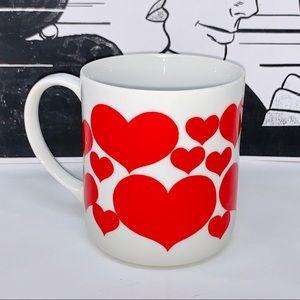 v i n t a g e :: MCM Heart Coffee Mug Valentines